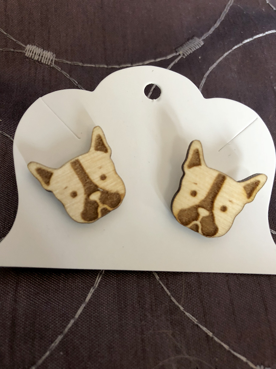 Etched Earring Example